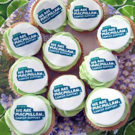 Macmillan Cancer Support Cupcakes