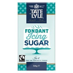 A 500g packet of fondant icing sugar