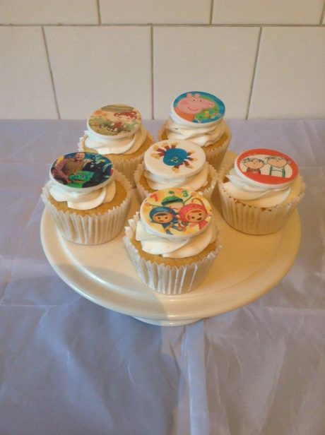 Children's Characters Cupcakes