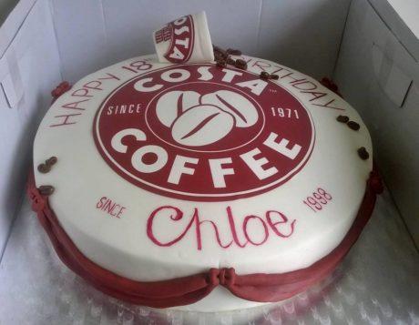 Costa Coffee Cake