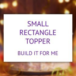 Small rectangle product - build it for me